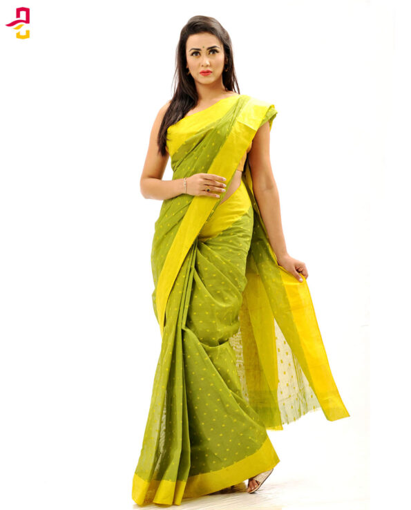 Pure Cotton Tangail Sari (সুতি শাড়ি) HHS-506