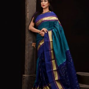 Mercerized Cotton Tangail Saree (সুতি শাড়ি) HHS-539