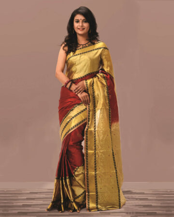 Silk Katan Saree HJ-2188
