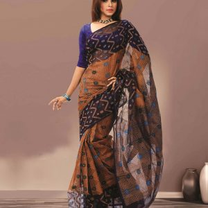Soft Silk Jamdani Saree HJ-2215