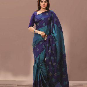 Pure Soft Silk Saree HJ-2227