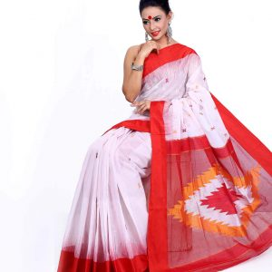 Gas Cotton Saree HJS-210