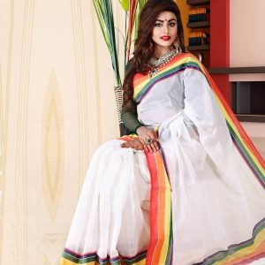Pure Cotton Saree HJS-256