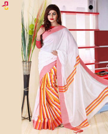 Half Silk Saree HJS-258