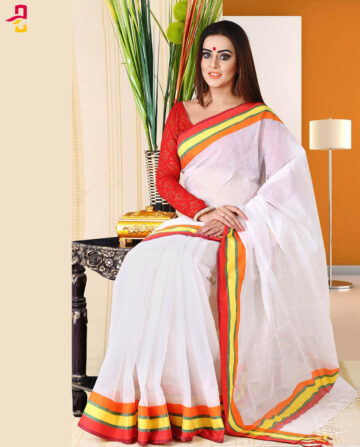 Pure Cotton Saree HJS-259