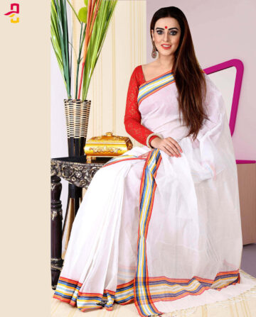Pure Cotton Saree HJS-261