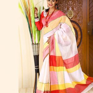 Pure Cotton Saree HJS-277