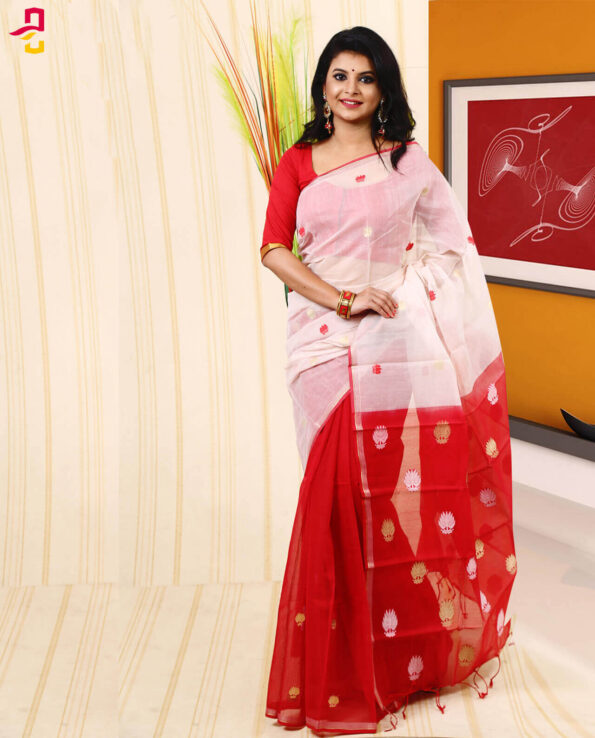 Half Silk Saree HJS-286