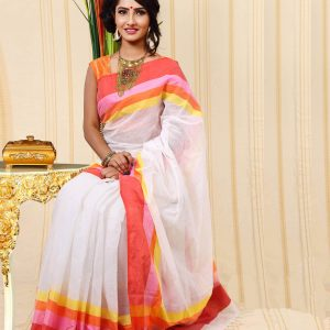 Pure Cotton Saree HJS-289