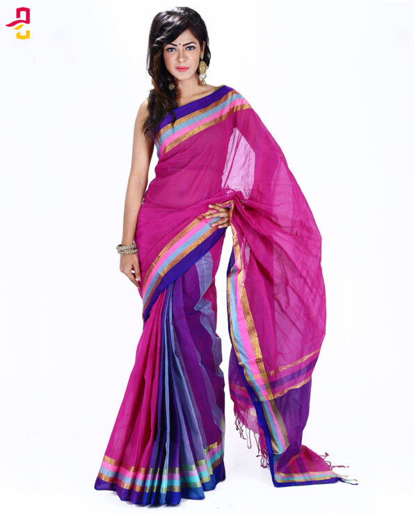 Pure Cotton Tangail Sari HMT-243