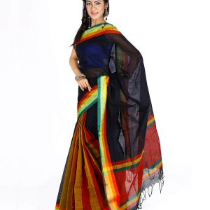 Pure Cotton Tangail Sari HMT-248