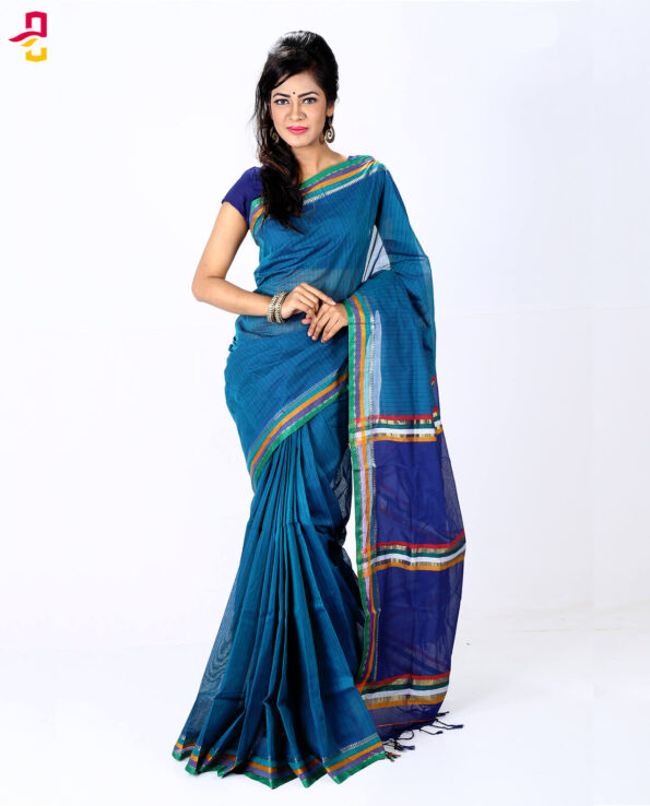 Pure Cotton Tangail Sari HMT-254