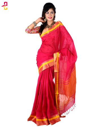 Pure Cotton Tangail Sari HMT-263