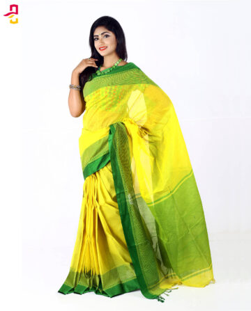 Pure Cotton Tangail Sari HMT-271