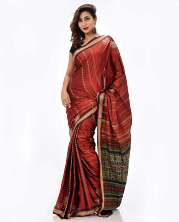 Combo Soft Silk Tangail Saree HS-222