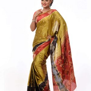 Fine Soft Silk Saree HS-263